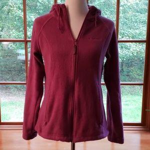 Columbia Jacket Coat.  Purple.  Size Small.